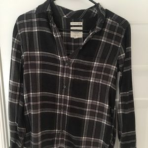 Flannel button up!